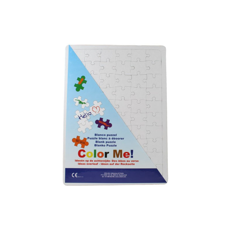 Color me puzzel A3
