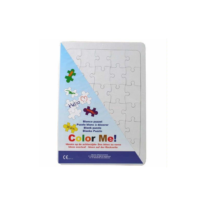 Color me puzzel A4