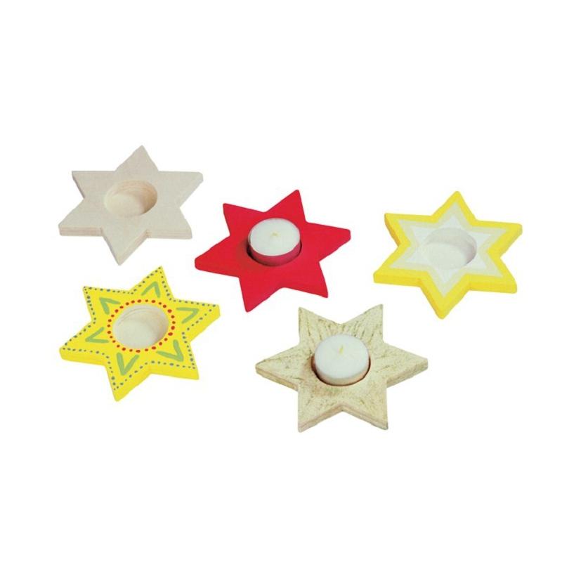 Theelichtje ster