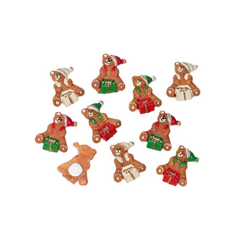 Kerstbeer plakkers