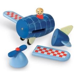 Magneetset Vliegtuig