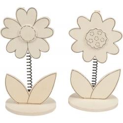 Memohouder bloem