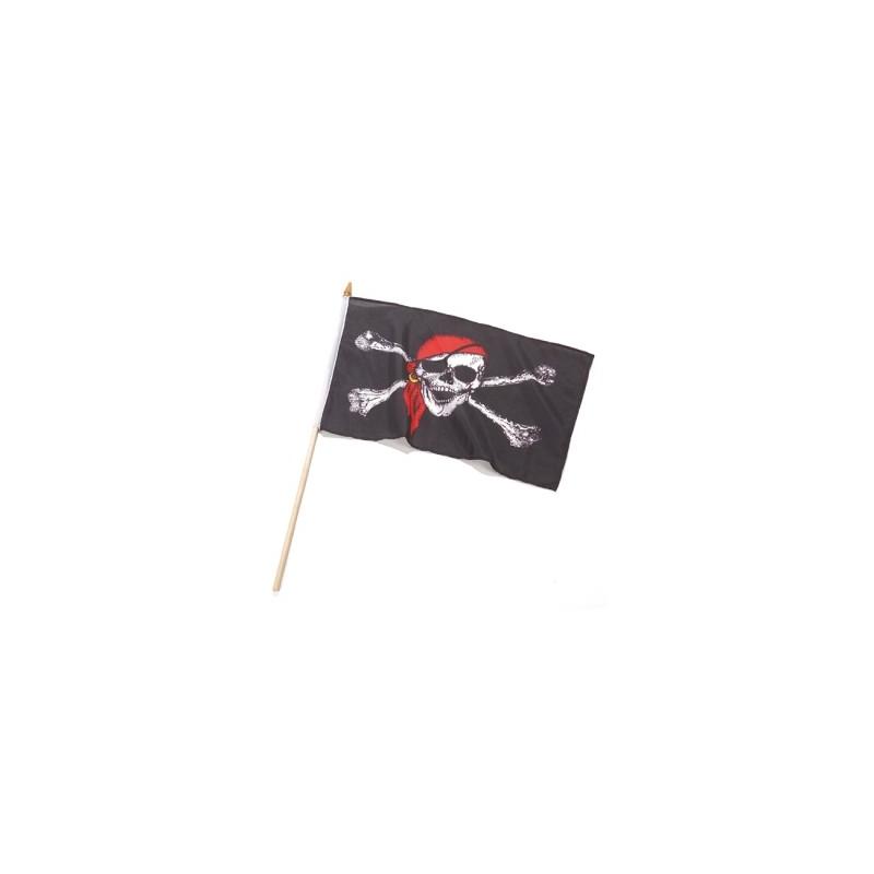 Piratenvlag klein