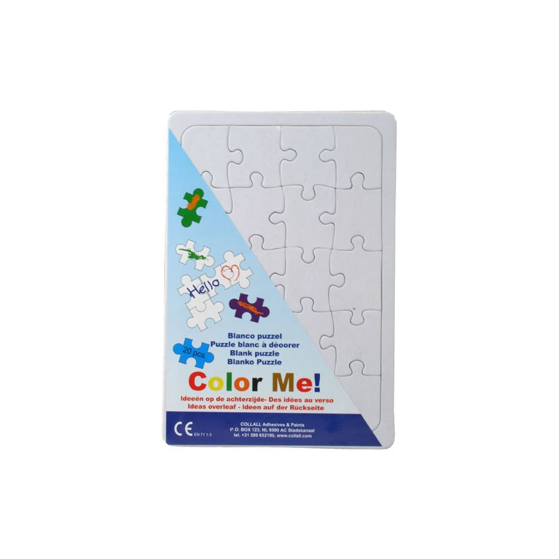 Color me puzzel A5