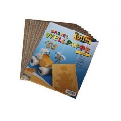 Goud en zilver golfkarton (10 vel)