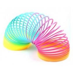 Grote regenboog spiraal (traploper)