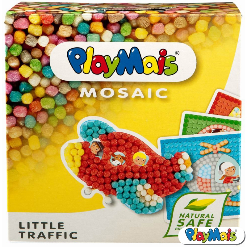 PlayMais mosaic traffic