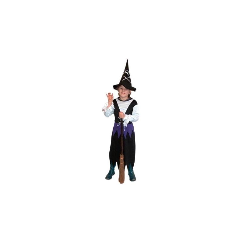 Heksen jurk met hoed