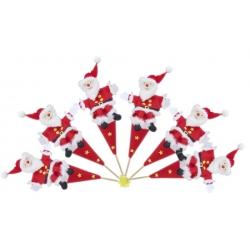 Stokpop kerstman