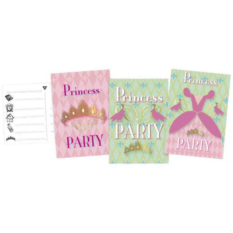 Prinses uitnodigingen