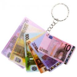 Sleutelhanger eurobiljetten