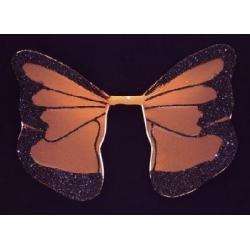 Vleugels oranje/zwart