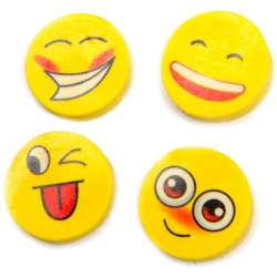 Gum smiley (set van 4)