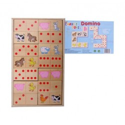 Domino groot hout