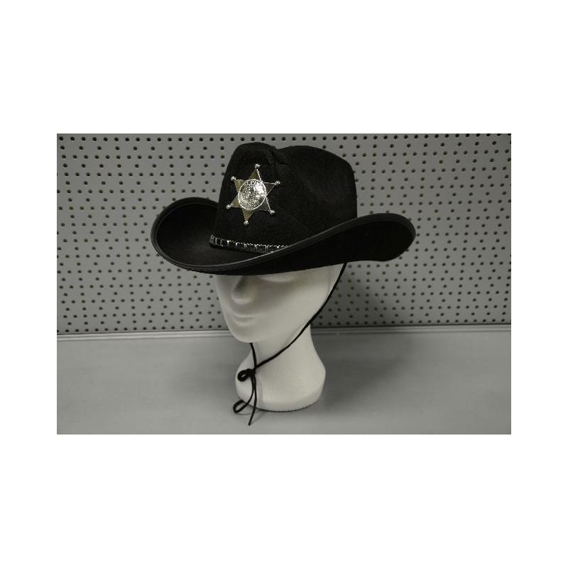 Sheriff Cowboy hoed luxe