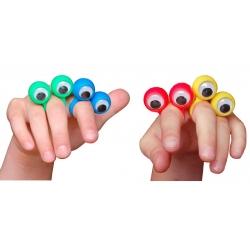 Ring met wiebelogen