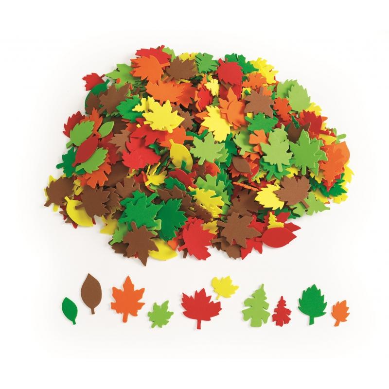 Foam herfst bladeren