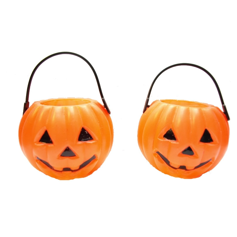Mini Halloween emmertjes (2 sts.)