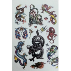 Tattoo stickerboek