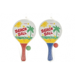 Beachball racket set