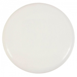 Witte frisbee 21 cm.