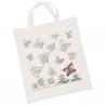 Voorbedrukte tas vlinders