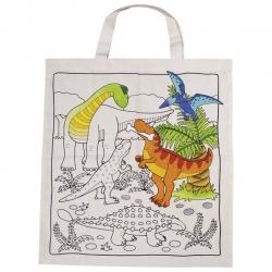 Voorberukte tas Dino's