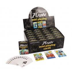 Mini speelkaarten piraten