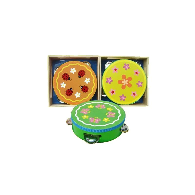 Luxe tamboerijn in kistje