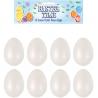 Foam eieren (8 st)