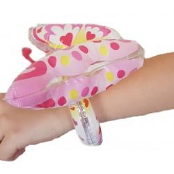 Opblaas vlinder aan armband