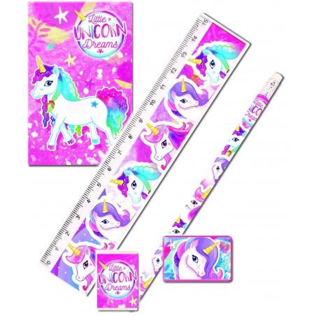 Schrijfset unicorn
