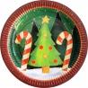 Kerst borden (6 st.)