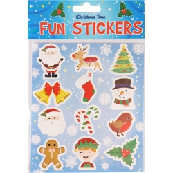 Fun stickers kerst