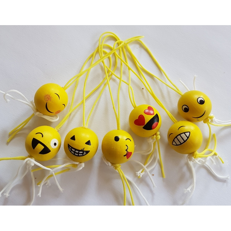 Gelukspoppetje emoji (smiley)