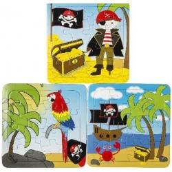 Puzzel piraat