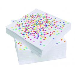 Confetti servetten