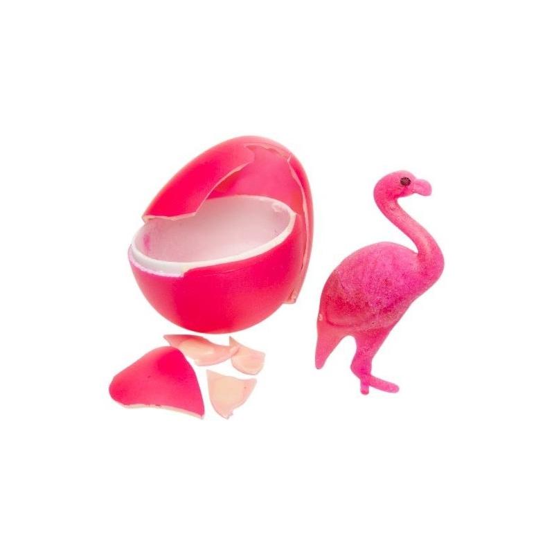 Groei flamingo in ei