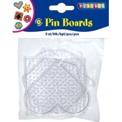 Strijkkralen bordjes 5 vormen