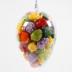 Kunststof deelbaar ei (5 st)