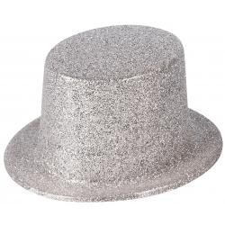Hoge hoed zilver