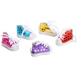 Sleutelhanger schoen glitter
