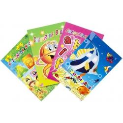 Kleurboekje met stickers...