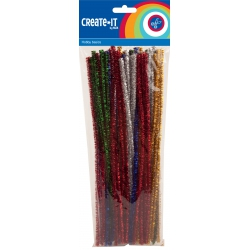 Gliter chenille (50 sts)