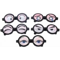 Grappige ogen bril