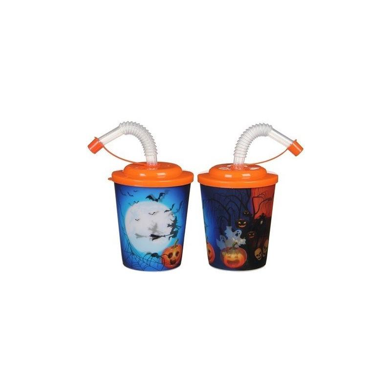 Halloween 3D beker