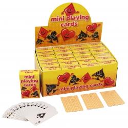 Mini speelkaarten in doosje