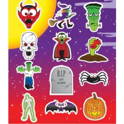 Fun stickers Halloween