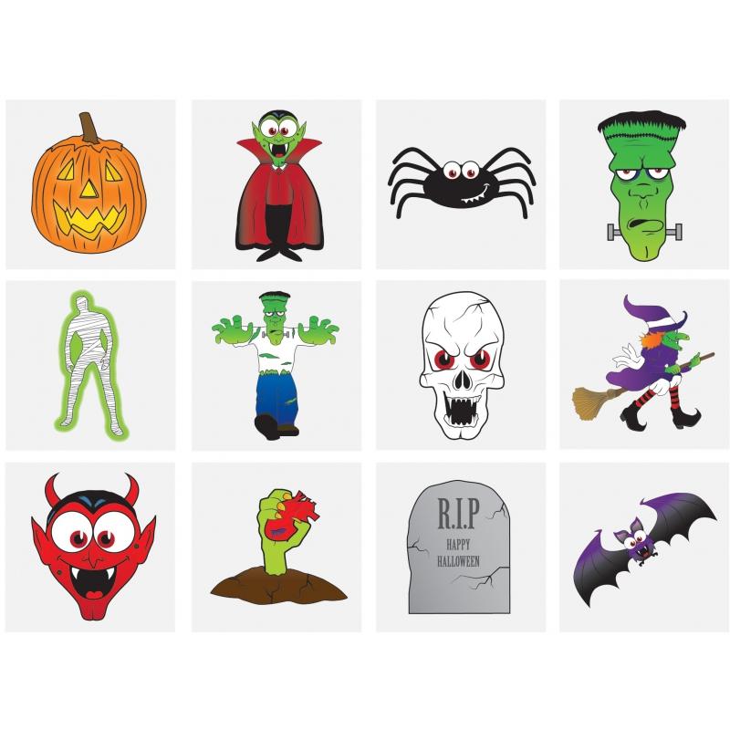 Tattoo Halloween (12 st.)