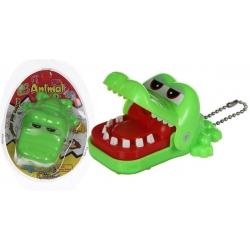 Sleutelhanger krokodil met kiespijn